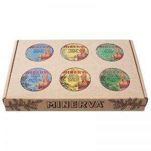 Minerva Spicy and Conventional Pates of Sardine