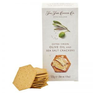 The Fine Cheese Co. Extra Virgin Olive Oil and Sea Salt Crackers 125g