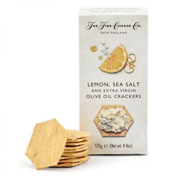 Crackers com Limão e Sal Marinho The Fine Cheese Co. 125g