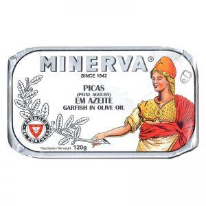 Peixe-agulha em Azeite Minerva 120g