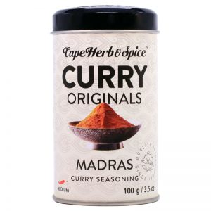 Tempero para Caril Madras Cape Herb & Spice 100g