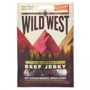 Wild West Jalapeno Beef Jerky 25g