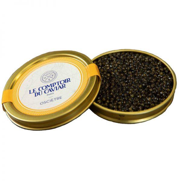 Caviar Ossetra Acipenser Gueldenstaedtii Le Comptoir Du Caviar 20g