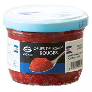 Ovas de Lumpo Vermelhas Le Comptoir Du Caviar 100g
