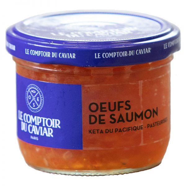 Ovas de Salmão Selvagem do Alasca Le Comptoir Du Caviar 100g