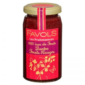 Doce de 4 Frutos Vermelhos Favols 250g