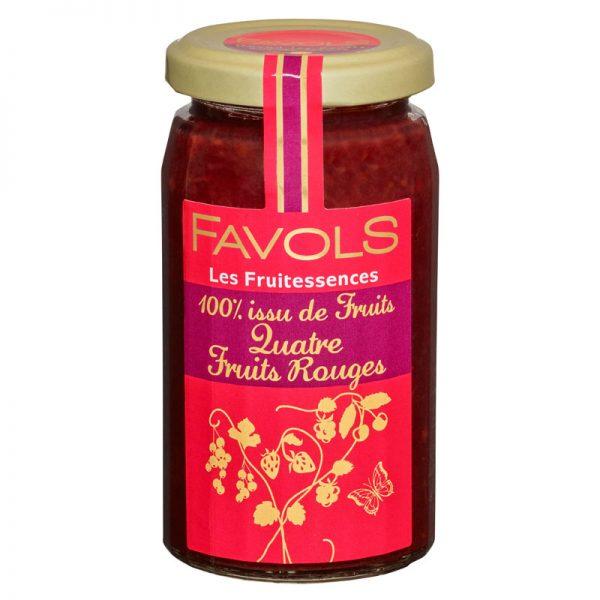 Favols 4 Red Fruits Jam 250g