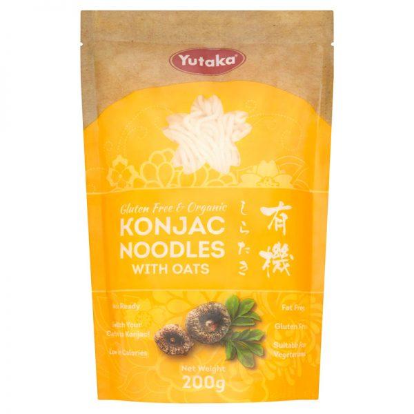 Noodles Konjac Biológicos com Aveia Yutaka 200g