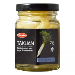 Takuan (Pickles de Rábano) Yutaka 110g