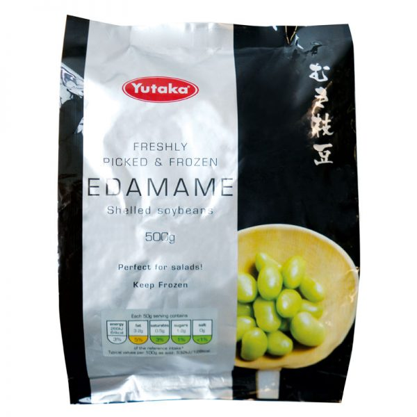 Yutaka Frozen Edamame Soybean with Pod 500g