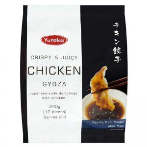 Gyoza Dumplings de Galinha (12und) Yutaka 240g