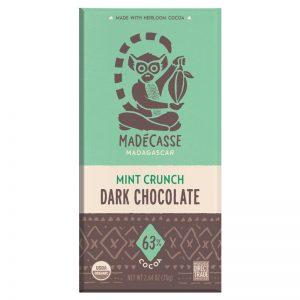 Chocolate Preto com Menta 63% Biológico Madécasse 75g
