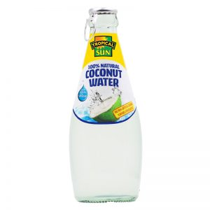 Tropical Sun Tropical Sun Coconut Water 100% Natural - Glass Bottle 300ml