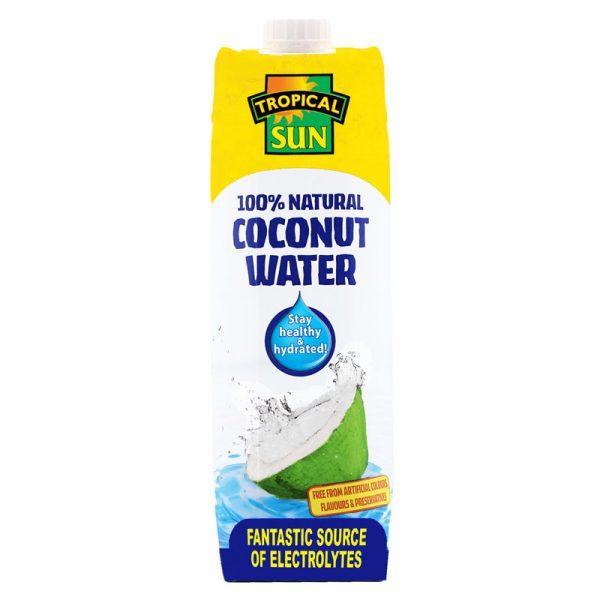 Água de Coco Natural Tetraprisma Tropical Sun 1000ml