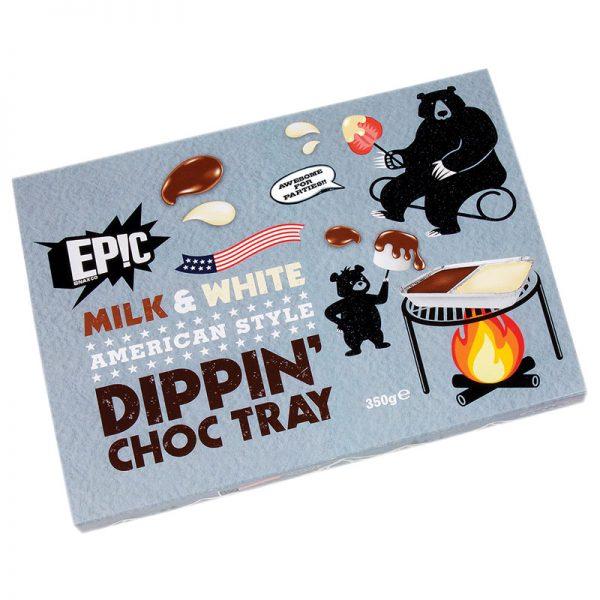Fondue de chocolates Dippin Choc Tray Epic 350g