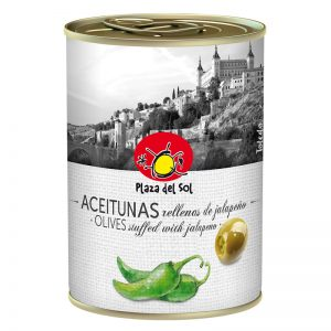 Plaza del Sol Olives stuffed with Jalapeno 280g