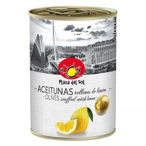 Plaza del Sol Olives stuffed with Lemon 280g