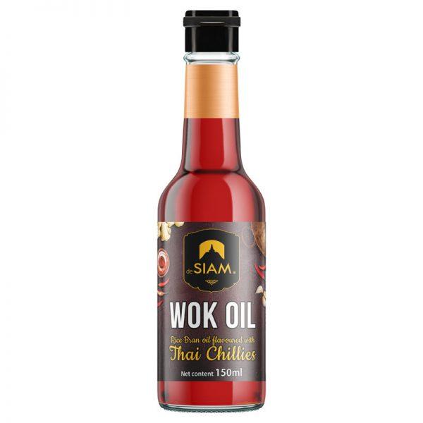 Óleo para Wok com Chilli Vermelho deSIAM 150ml