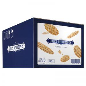 Crisps de Manteiga em Saqueta Individual Jules Destrooper 750g