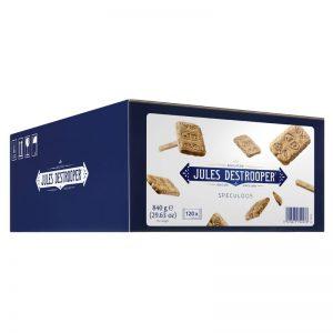 Biscoitos Caramelizados Speculoos em Saqueta Individual Jules Destrooper 840g