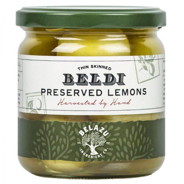 Limões Conservados em Salmoura Belazu 350g