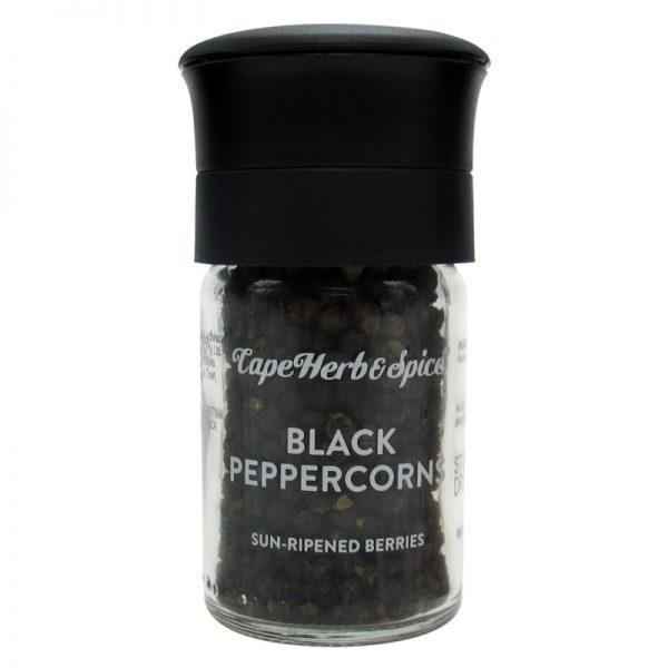 Moinho Cerâmico de Pimenta Preta Cape Herb & Spice 30g