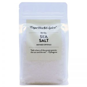 Cape Herb & Spice Refill Sea Salt Refined Crystals 500g