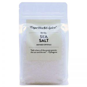 Recarga de Sal Marinho Cape Herb & Spice 500g