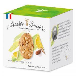 Bolachas de Amêndoa e Limão Maison Bruyère 90g