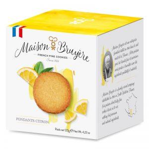 Maison Bruyère Lemon Butter Biscuits 120g