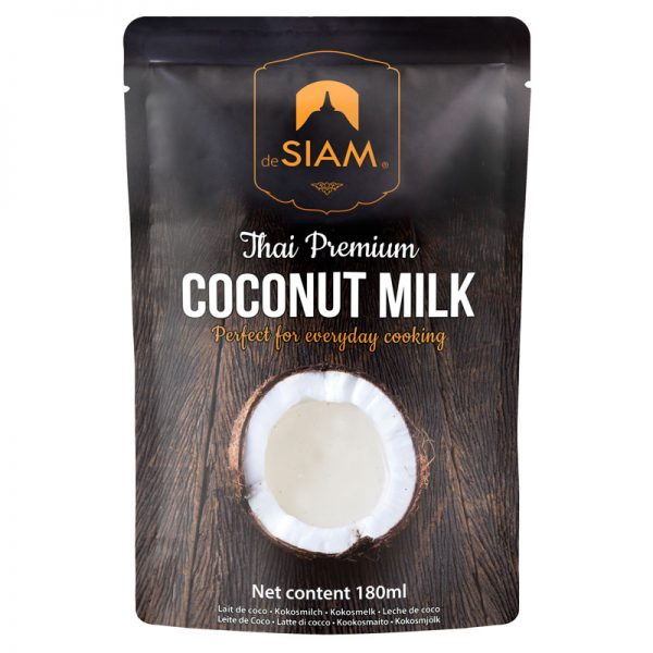 Leite de Coco Premium em Saqueta deSIAM 180ml
