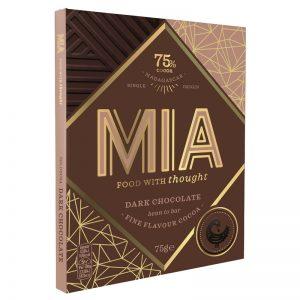 Chocolate Preto 75% MIA 75g