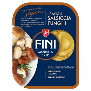 Massa Fresca Ravioli com Salsicha e Cogumelos Fini 250g