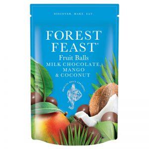 Fruit Balls de Chocolate Manga e Coco Forest Feast 100g