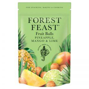Fruit Balls de Ananás Manga e Lima Forest Feast 100g