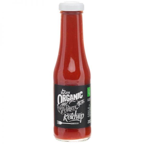 Ketchup Tomate Original Biológico BioBandits 325ml