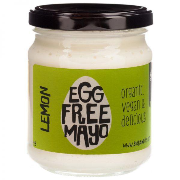 BioBandits Egg Free Organic Lemon Maionaise 240ml