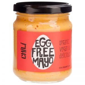 Maionese sem Ovos com Chili Biológica BioBandits 240ml