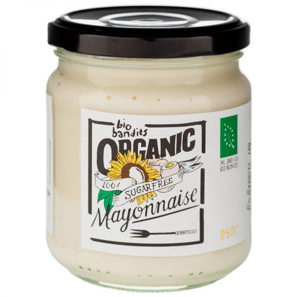 Maionese sem Açúcar Biológica BioBandits 240ml
