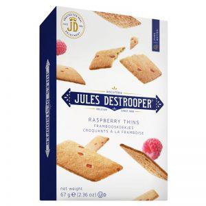 Jules Destrooper Raspberry Thins 67g