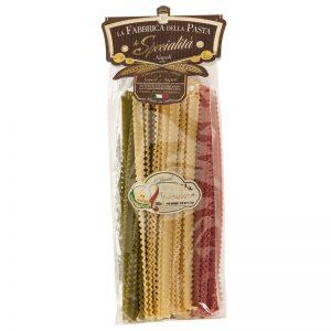 La Fabrica della Pasta Pasta Mafaldine 3 Colours 500g