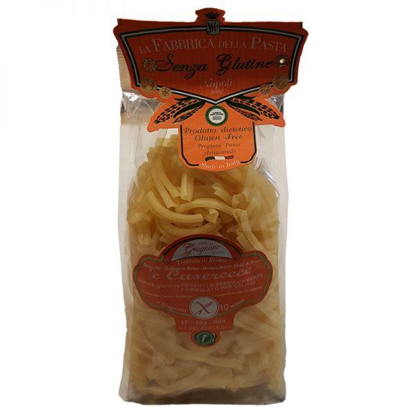 Pasta Caserecce sem Glúten La Fabrica della Pasta 500g