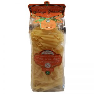 Pasta Penne de Zite Rigate sem Glúten La Fabrica della Pasta 500g