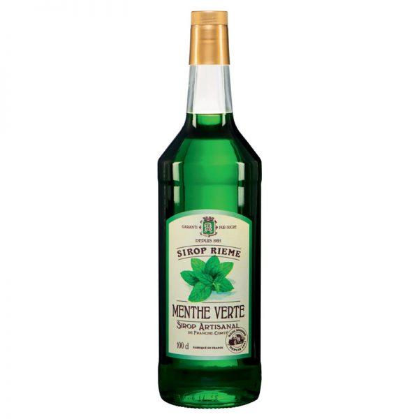 Rieme-Boissons Green Mint Syrup 1000ml