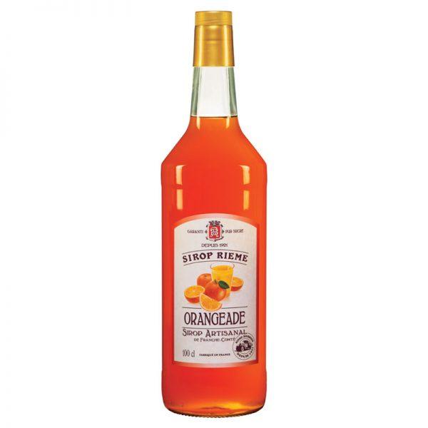 Rieme-Boissons Orangeade Syrup 1000ml