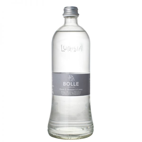 Lurisia Bolle ALU - Carbonated Water 75cl