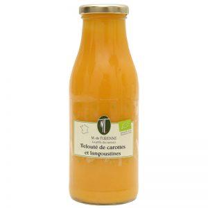 M. de Turenne Organic Carrot & Crawfish Soup 490g