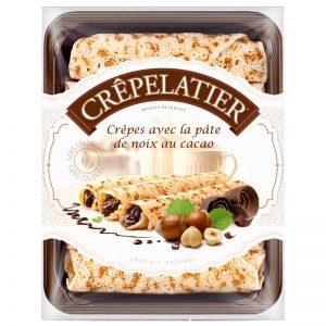 Crepes com Creme Avelã e Chocolate Crêpelatier 360g