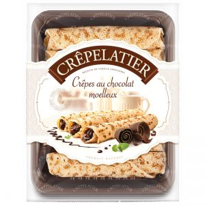 Crepes com Chocolate Crêpelatier 360g