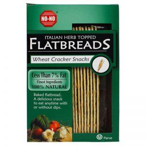 NO-NO No-No Italian Herb Topped Flatbreads 125g